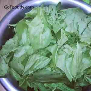 Spinach for palak paneer mix