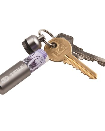emergency cash stash key ring