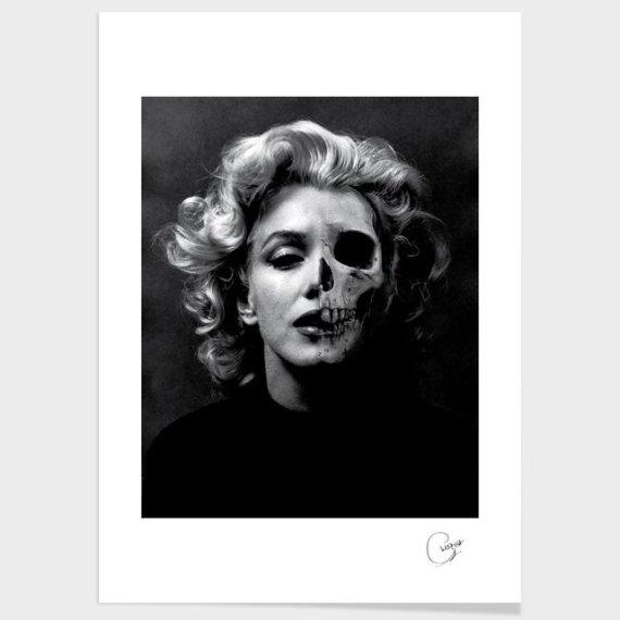 Beauty is in the Eye of the Beholder Print by Ceri Westcott