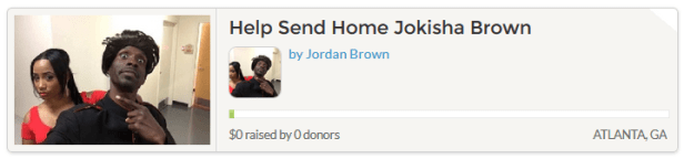 Jokisha Brown Gofundme