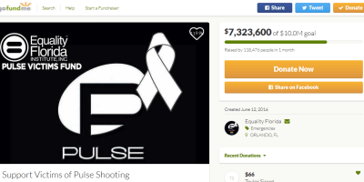 Pulse Gofundme campaign
