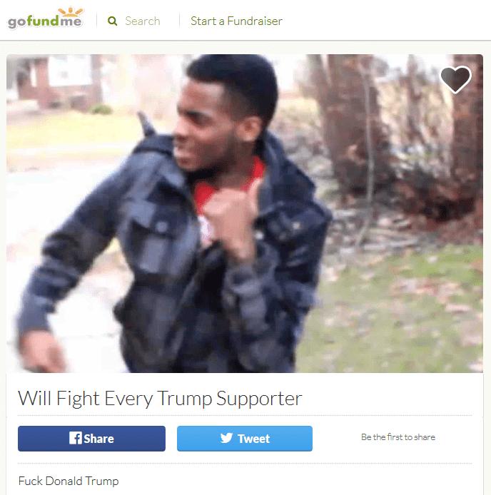Trump gofundme