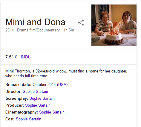 Mimi and Dona documentary