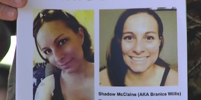 Shadow McClaine missing poster
