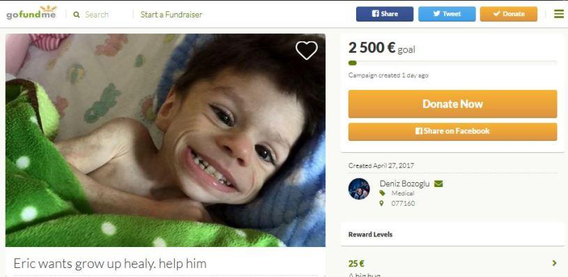 GoFundMe fraud sick kid