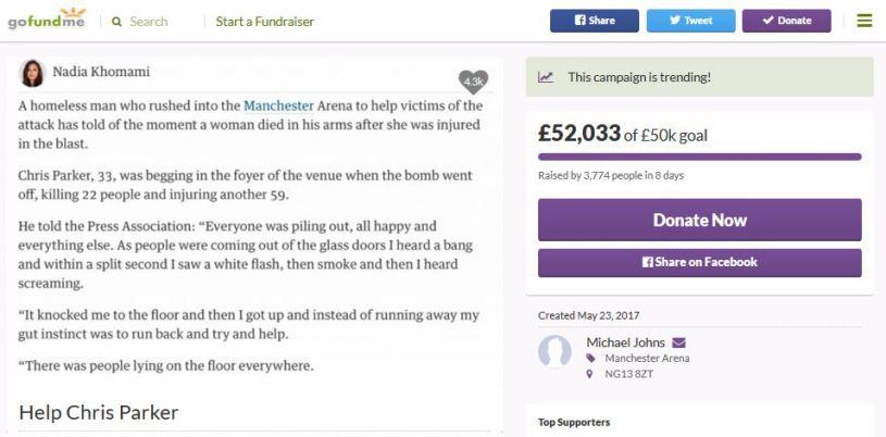 Help Chris Parker
