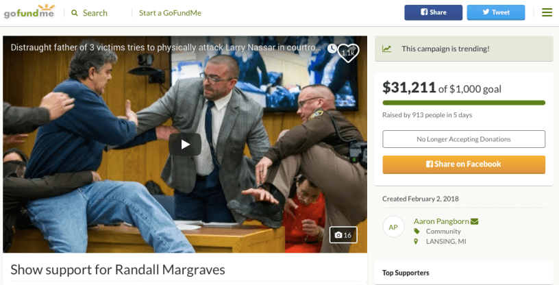 Randy Margraves GoFundMe