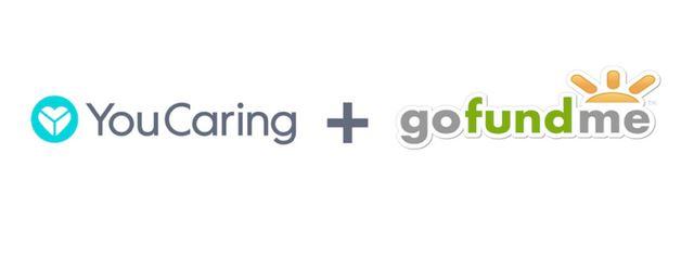 YouCaring and GoFundMe logos