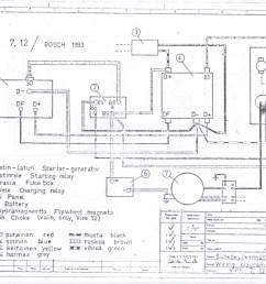 Hitachi Mini Starter Wiring Diagram - on