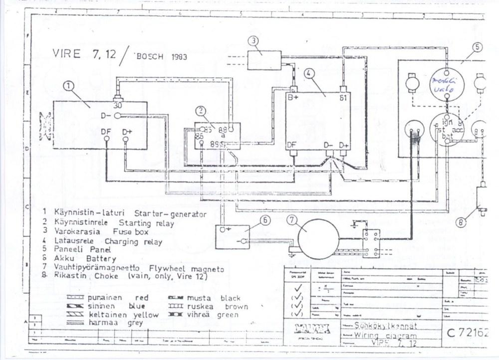 medium resolution of vire 7 starter generator circuit diagrams delco remy starter generator wiring diagram