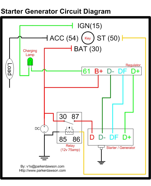 wiring diagram 12 volt relay for hid fog lights starter generator all data vire 7 circuit diagrams home