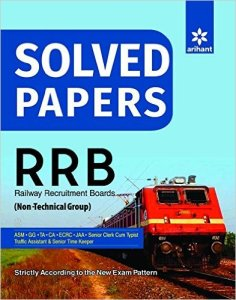 Solved Paper Railway Recruitment Boards 2016 RRB