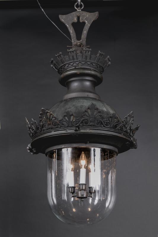 Pair Of 19th Century Parisian Street Lights French