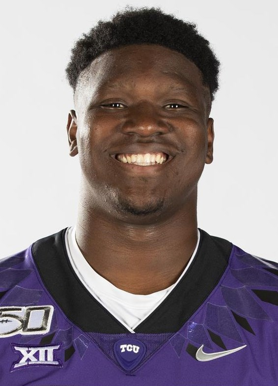 Texas Christian University Football #88 Artayvious Lynn photographed at TCU in Fort Worth, Texas on July 24, 2019. (Photo/Sharon Ellman)    TCU Football Contact Mark Cohen m.cohen@tcu.edu