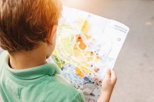 子供が英語嫌いにならないようにする方法、世界地図を貼ってみる