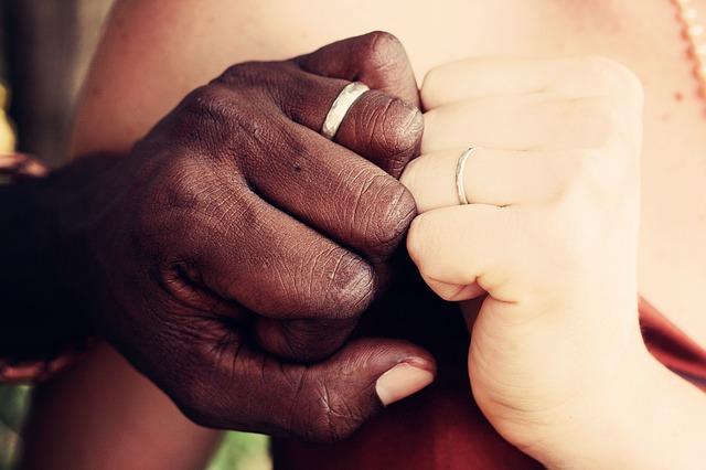 人種、黒人、白人