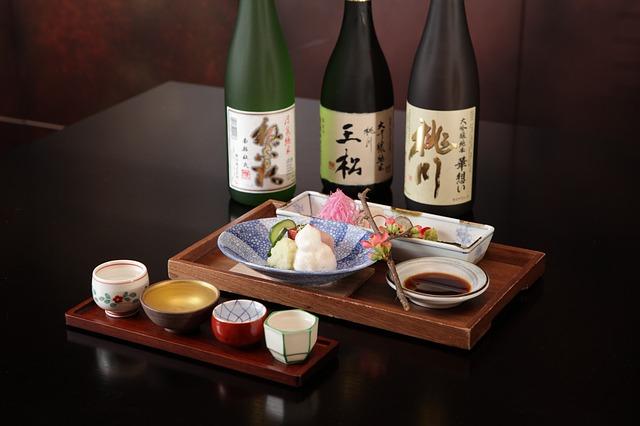 日本酒と焼酎の違い