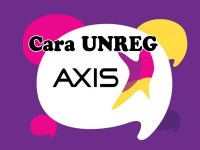 Bagaimana Cara Unreg Kartu Axis menggunakan SMS
