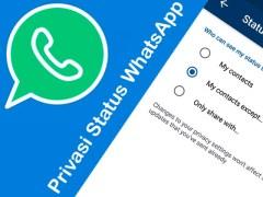 Cara Agar Orang Lain Tidak Bisa Melihat Status Whatsapp Kita