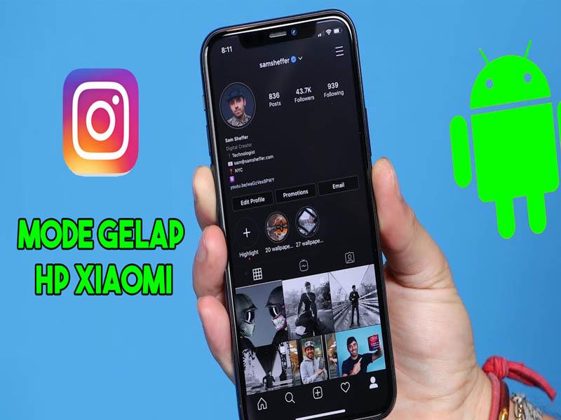 Cara Mengaktifkan Mode Gelap Instagram di Xiaomi