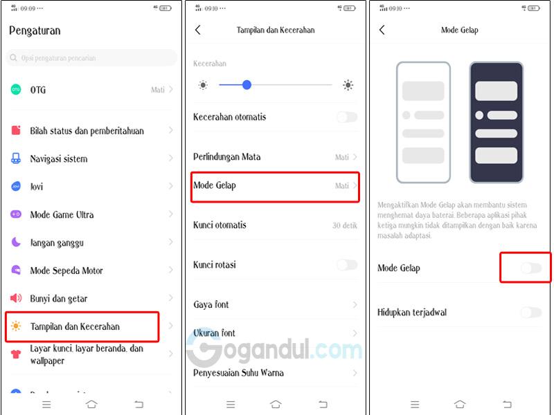 Cara Mengaktifkan Mode Gelap instagram Dan Whatsapp