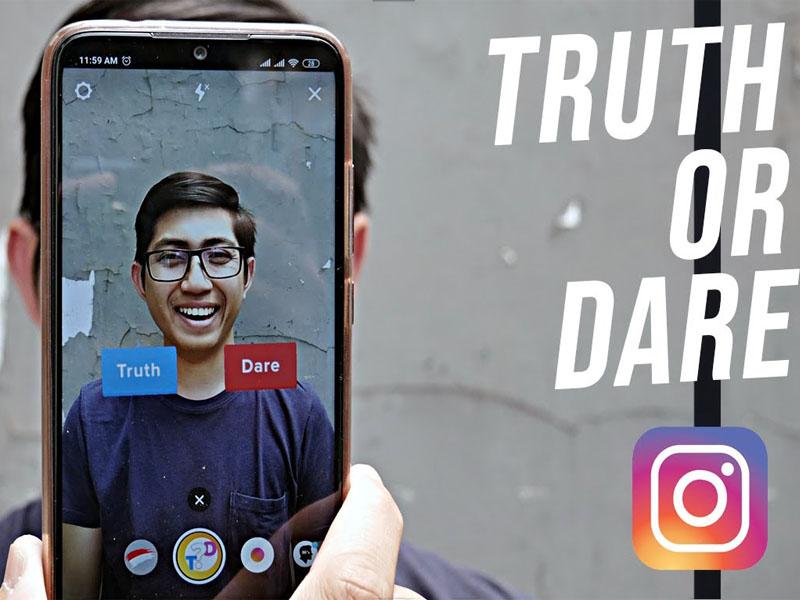 cara bermain truth or dare di instagram