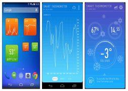 Cara mengukur suhu Ruangan di android