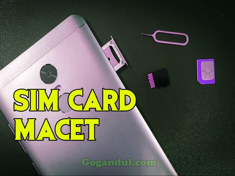 Cara Membuka Slot SIM Card yang Macet