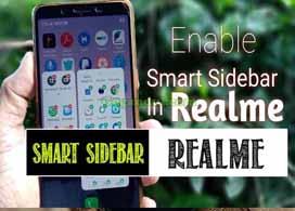 Cara Mengaktifkan Smart Sidebar Realme