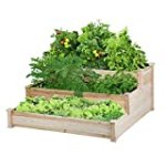 Yeheetech Wooden 3 Tier Raised Garden Bed