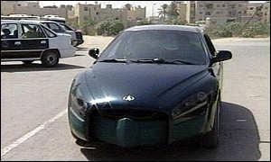 Rocket Car 1999