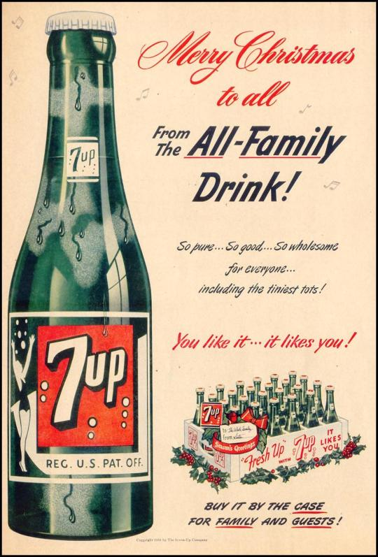 7 Up - published in Life - December 24, 1951
