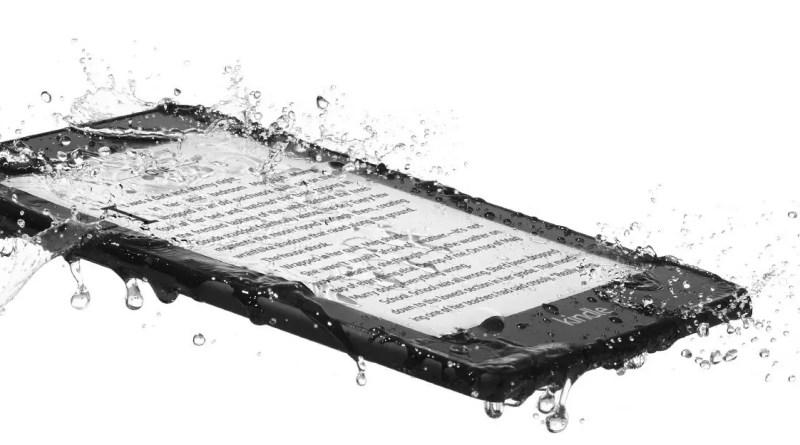 Kindle Paperwhite: nuovo modello più sottile, leggero e resistente all'acqua
