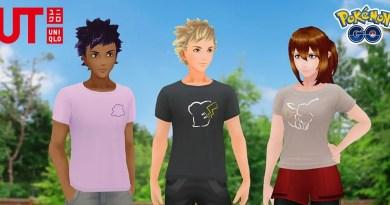 t-shirt pokemon Uniqlo avatar