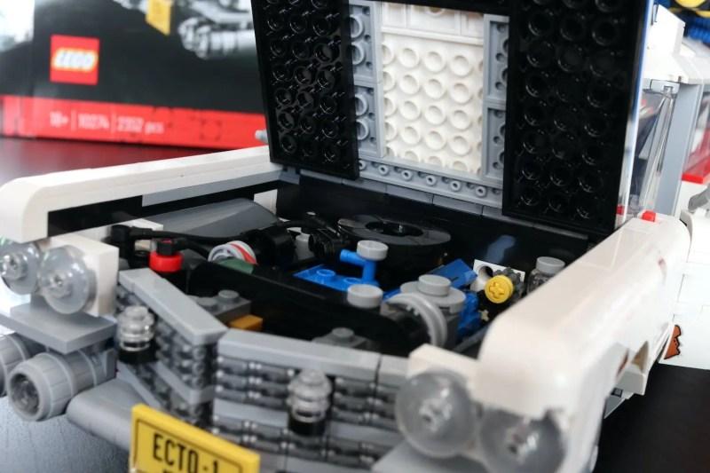 set lego ghostbuster ecto-1 motore