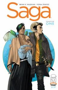 Saga #1 cover