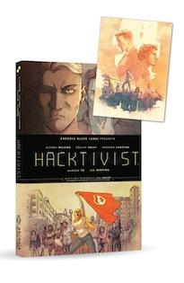 Hacktivist Book Plate - SDCC