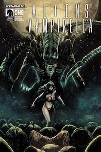 Aliens / Vamperilla Horror Crossover Cover