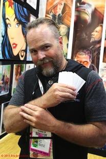 San Diego Comic-Con Preview Night - Monte M Moore