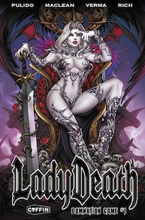 Lady Death: Damnation Game #1 - Coffin Comics - Brian Pulido
