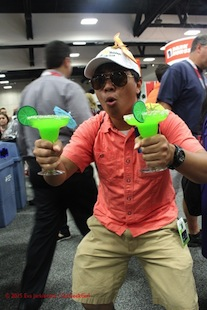 SDCC15: Jurassic World Margarita Man cosplay