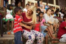 Paediatric Student Nurse Volunteering In Sri Lanka