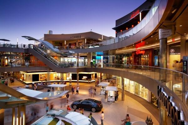 Los Angeles Santa Monica Mall