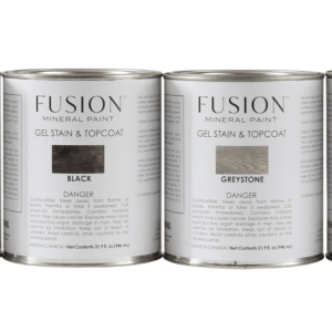 Fusion Mineral Paint Gel Stain and Topcoat