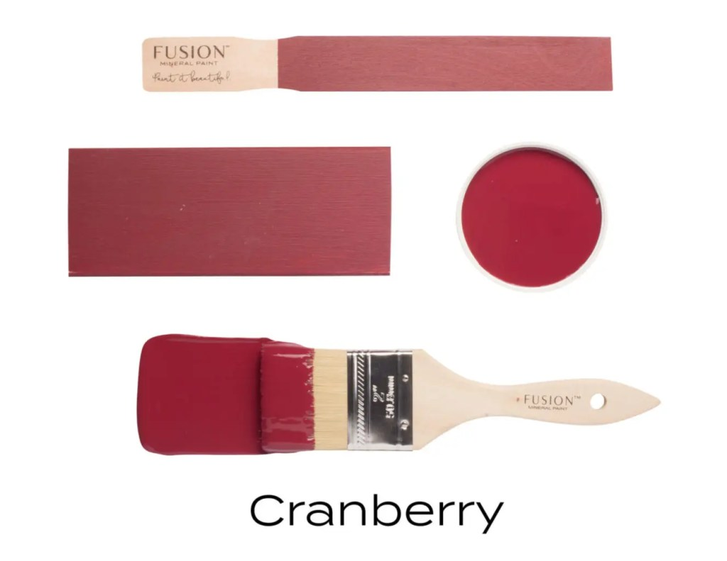 Fusion Mineral Paint Cranberry Fall Colors