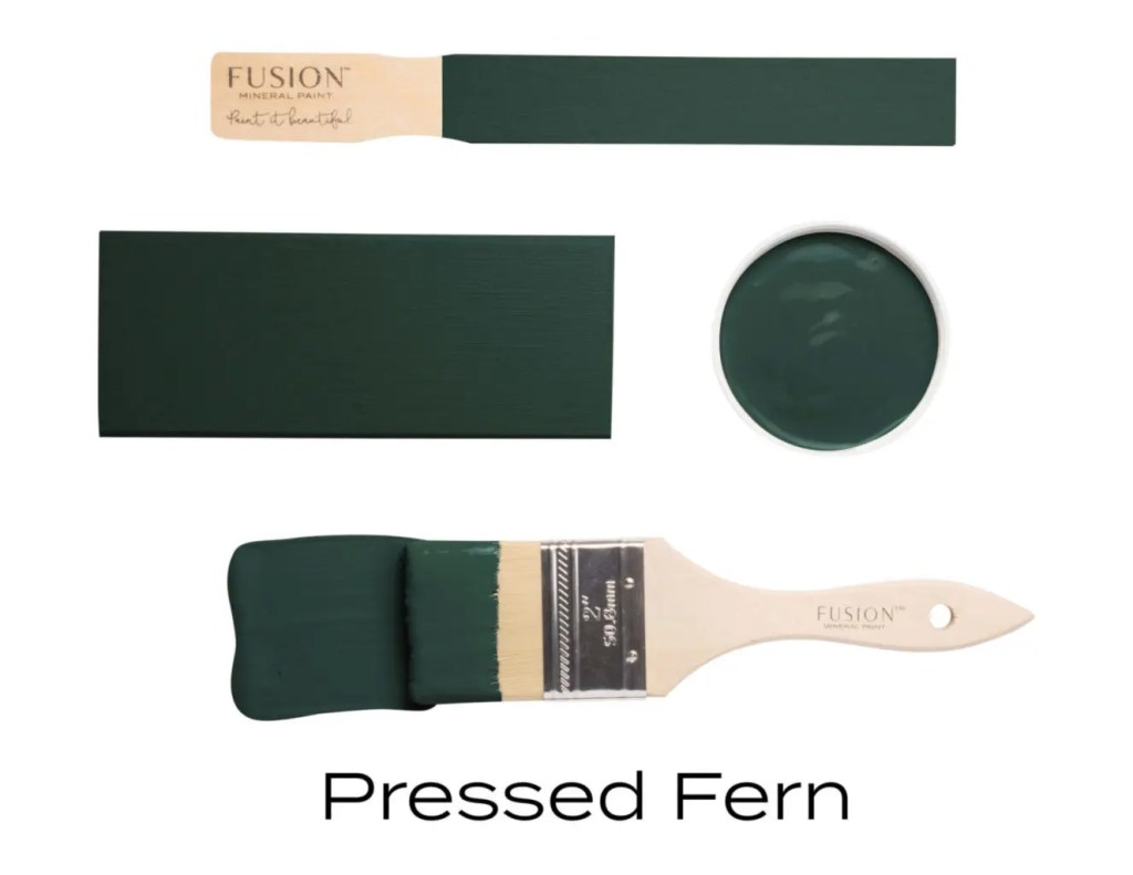 Fusion Mineral Paint Pressed Fern