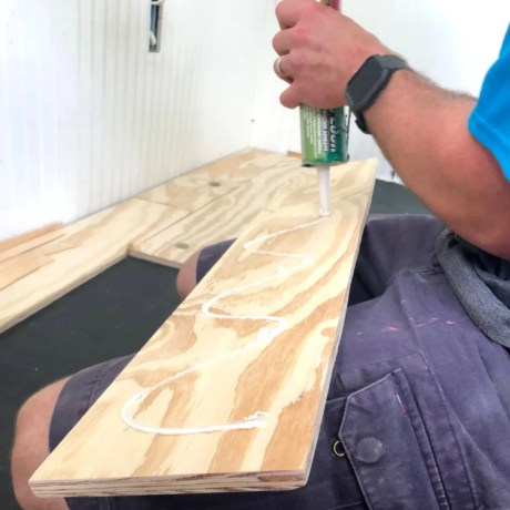 Gluing down Plywood Floors