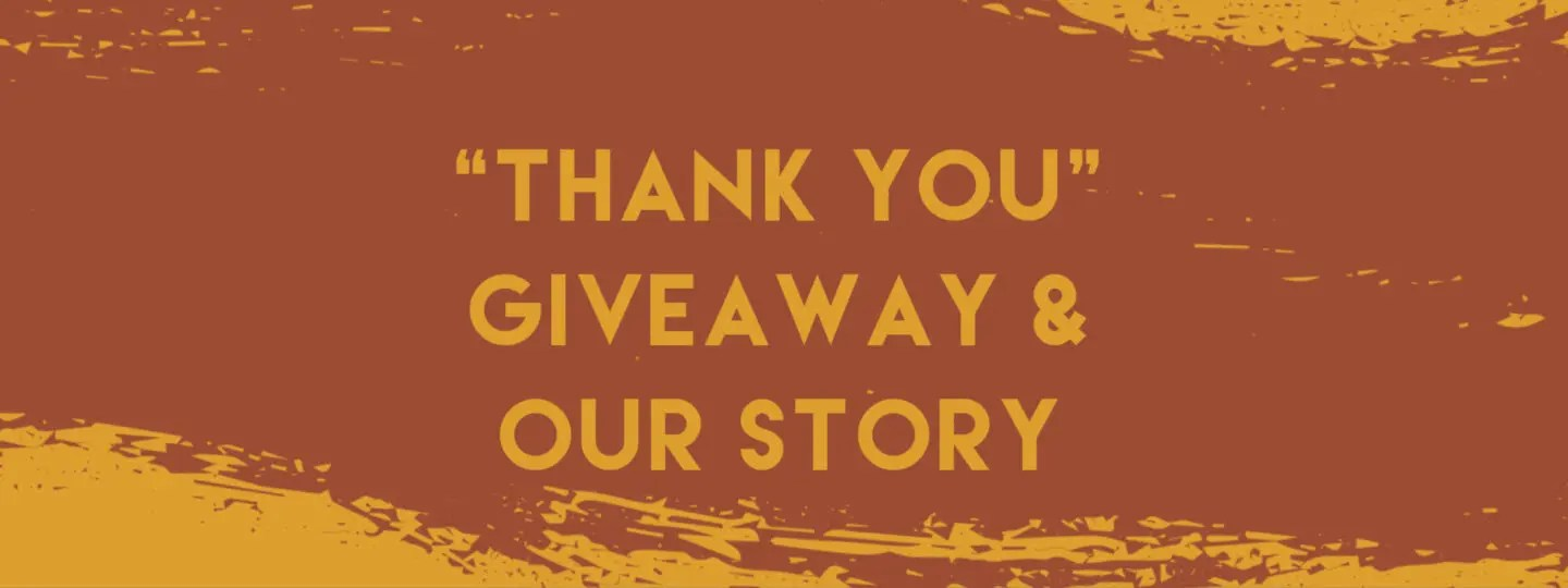 Giveaway and Small Business Story Blog Banner