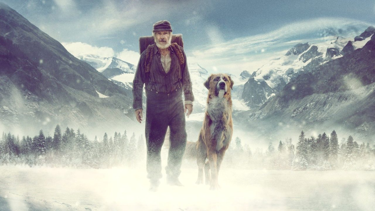 The Call Of The Wild A Cg Dog Befriends A Bedraggled Harrison Ford