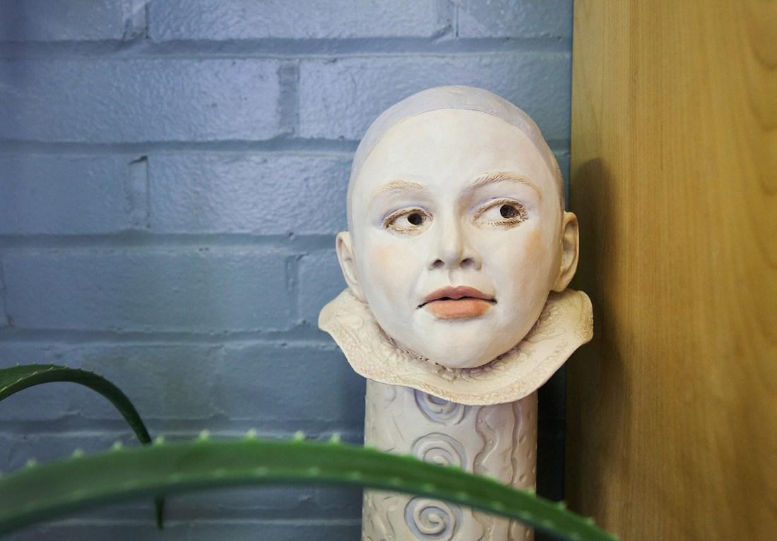 Studio_Clay Head_Ceramics